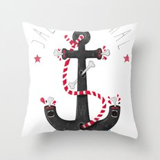 SALVAJEANIMAL headless VII Throw Pillow