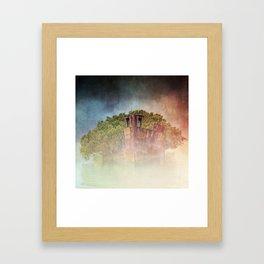 Ghostly Garden Shipwreck Framed Art Print