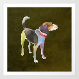 Fox Terrier Art Print