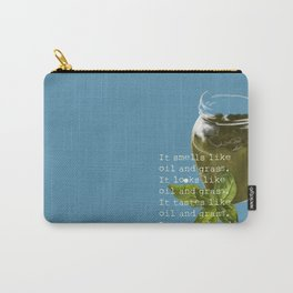 A Poem about Pesto. Carry-All Pouch