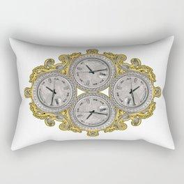 IV O'Clocks Rectangular Pillow