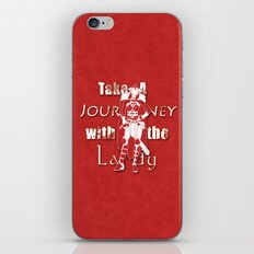 Take A Journey With The Lady iPhone & iPod Skin