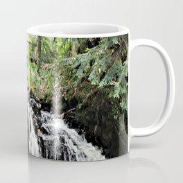 Bridge Over Waterfall Coffee Mug