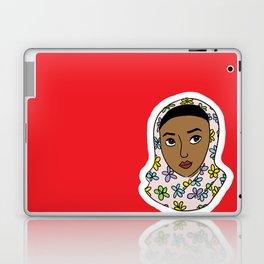 girl in red Laptop & iPad Skin