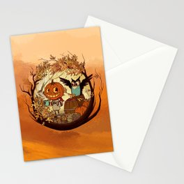 Fall Folklore Stationery Cards