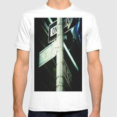 42nd Mens Fitted Tee White MEDIUM
