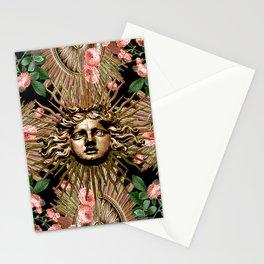 Rose Garden Gate Stationery Cards