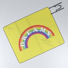 Rainbow Dreams Picnic Blanket
