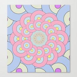 Simple Mandala Canvas Print