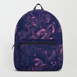 Pink and Purple Tendrils - An Abstract Piece Backpack