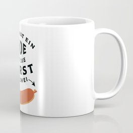German Sausage Oktoberfest Coffee Mug