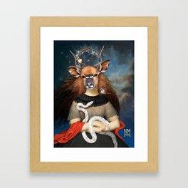 Sum Quod Eris Framed Art Print