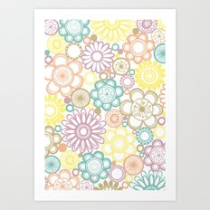 BOLD & BEAUTIFUL serene Art Print