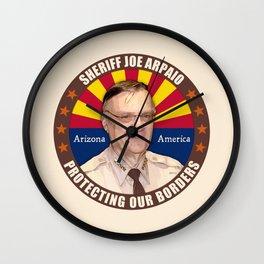 Sheriff Joe Arpaio Wall Clock