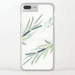Eucalyptus Clear iPhone Case
