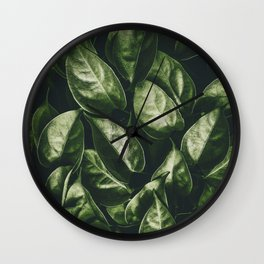 Leaves Paradise Wall Clock