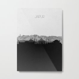 City Skylines: Jaipur Metal Print