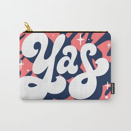 Yas Lettering Carry-All Pouch