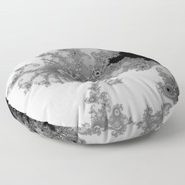 males mandelbrot abstract Floor Pillow