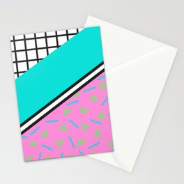 80's Throwback Stationery Cards