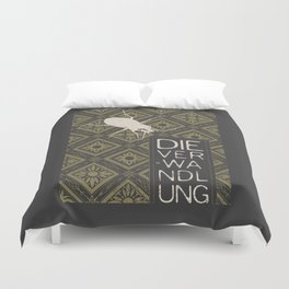 Books Collection: Kafka, The Metamorphosis Duvet Cover