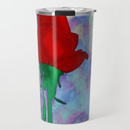 Painted Rose Travel Mug