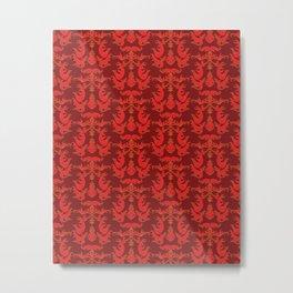 Rebecca Pattern Metal Print