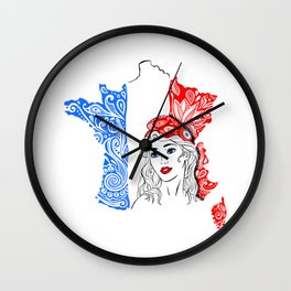 Marianne Wall Clock