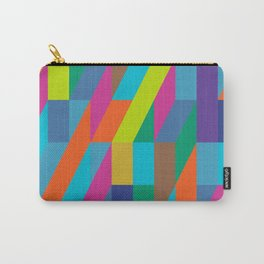 neon geometric frenzy Carry-All Pouch