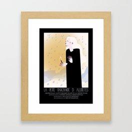 La Petite Fille aux Allumettes Framed Art Print