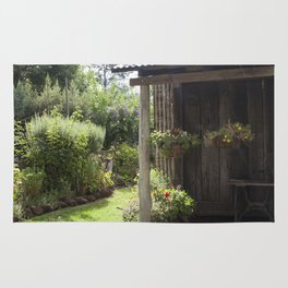 The Old Cottage Garden Rug