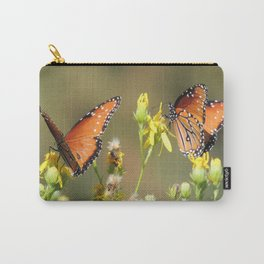 A Pair of Queens on Rubber Rabbitbrush Carry-All Pouch