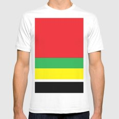 Marley bars Mens Fitted Tee White MEDIUM
