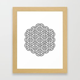 flower of life Framed Art Print