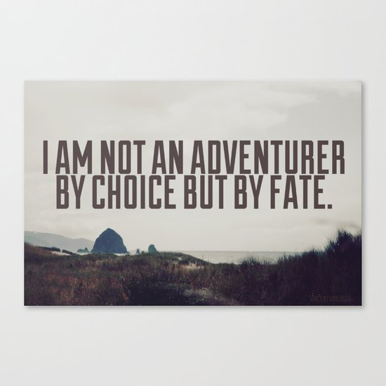 Adventurer by Fate Canvas Print