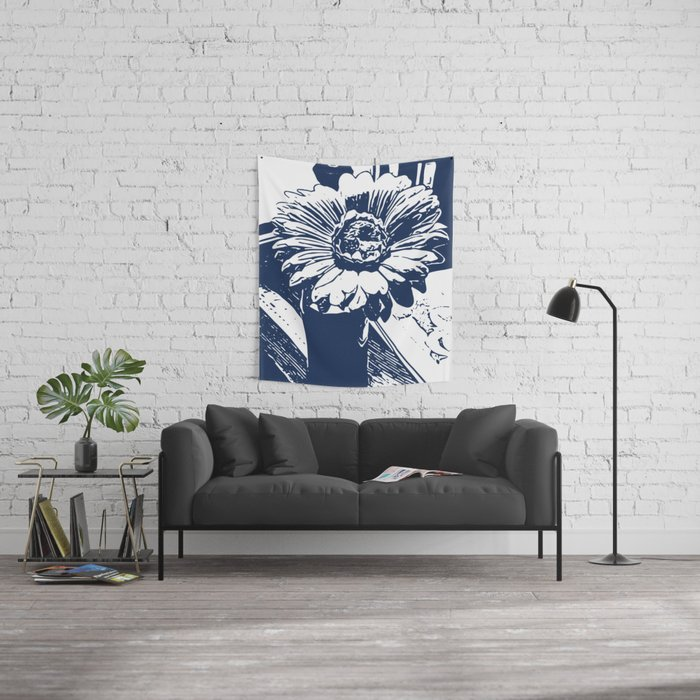 Sunflower nile Wall Tapestry
