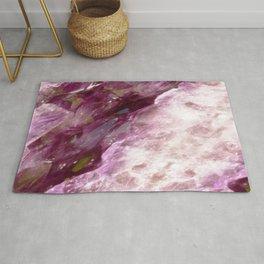 Pink Blush Amethyst Geode Rug