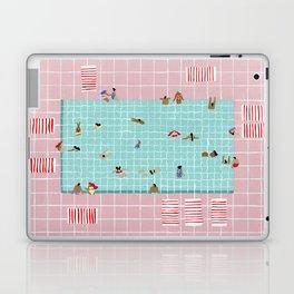 Pink Tiles Laptop & iPad Skin