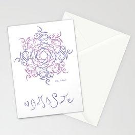 Namaste Mandala - Purple Pink Stationery Cards