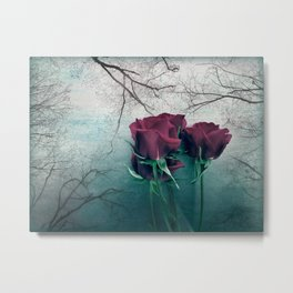 Still I Look to Find a Reason Metal Print