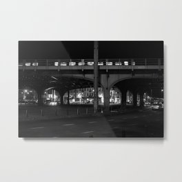 City Night Life Metal Print
