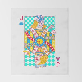 "Jack Shit ""LOST TIME"" Throw Blanket"