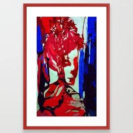 Kimono II Framed Art Print