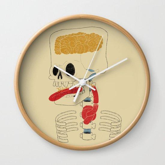 Square Skull...   Wall Clock