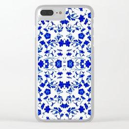 Velasco Blue - 2 Clear iPhone Case
