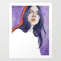 Close Up 18 Art Print