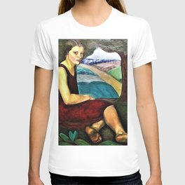 12,000pixel-500dpi - Prudence Heward - Women Who Look Out from the Canvas T-shirt