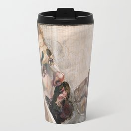 Elastic heart Travel Mug