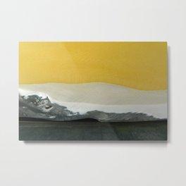 Desert by day Metal Print