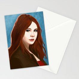 Amy Pond Stationery Cards